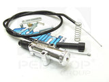 Polini universal choke cable and lever chrome for Dellorto Polini Stage6 - Dynoscooter.com