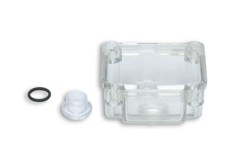Malossi clear float bowl for Dellorto PHBG carburetors - Dynoscooter.com