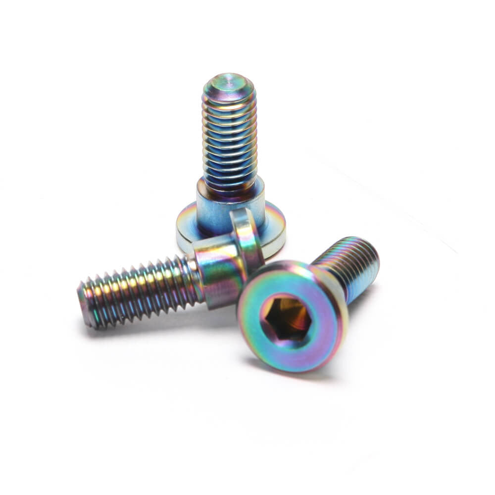 NCY Titanium brake rotor screws - Dynoscooter.com