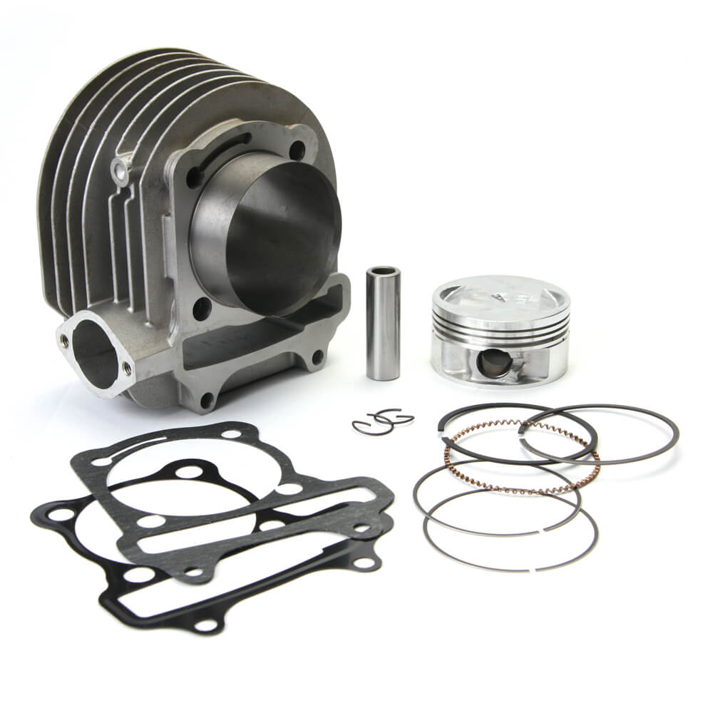 NCY GY6 150 Aluminum 171cc 61mm Big Bore Kit - Dynoscooter.com