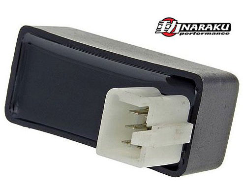 Naraku unrestricted CDI for the Honda Elite AF16 - Dynoscooter.com