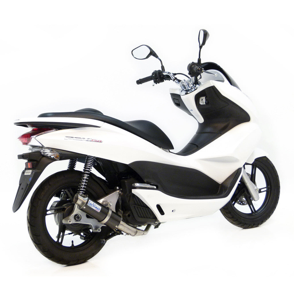 honda pcx 125 150 leo vince full gp corsa exhaust system. Black Bedroom Furniture Sets. Home Design Ideas