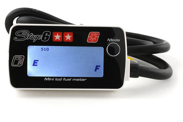 Stage 6 LCD Fuel Gauge - Dynoscooter.com