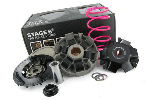 Stage6 RT Oversize variator kit for Yamaha Zuma - Dynoscooter.com