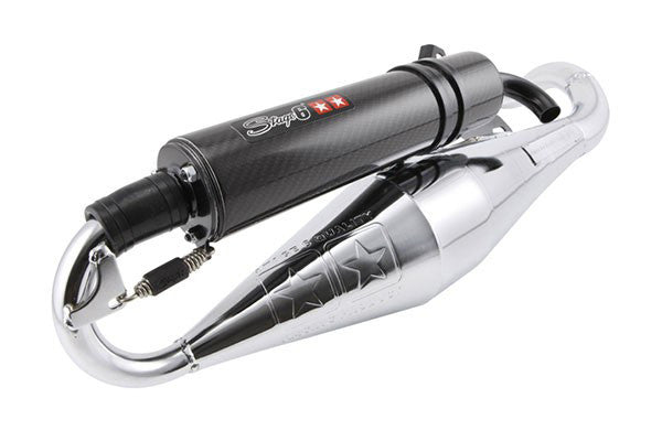 Stage6 Pro Rep exhaust Aprilia SR50 with Piaggio engine - Dynoscooter.com