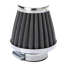TNT Tuning Chrome Air filter for carburetors with 28mm and 35mm connection - Dynoscooter.com