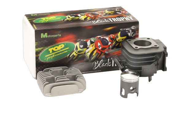 "Top Performances ""Black Trophy"" 70cc kit Minarelli Vertical 10mm wrist pin - Dynoscooter.com"