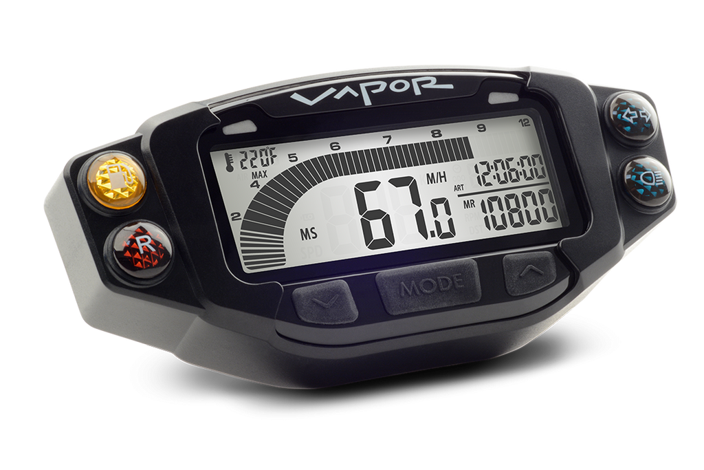 Trail Tech Indicator Light Dashboard for Vapor and Striker Speedometers - Dynoscooter.com