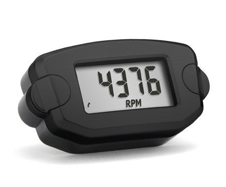 Trail Tech TTO Tach and Hour meter Black - Dynoscooter.com