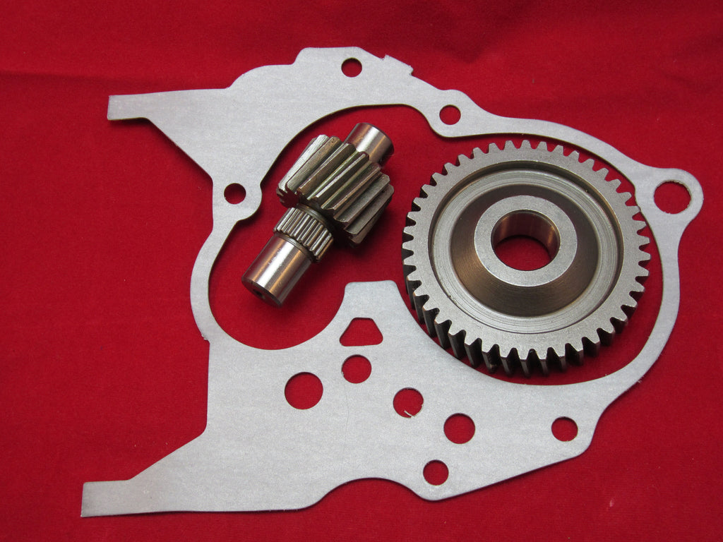 Honda Elite 50 Dio 50 17/41 up gears with gasket - Dynoscooter.com