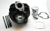 PG 50mm Stroker Cylinder for the Honda Elite 50 / Dio - Dynoscooter.com