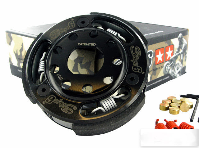 Stage 6 torque control clutch for the Honda Elite 50 / Dio - Dynoscooter.com