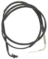 2002-2011 Yamaha Zuma single pull throttle cable for Arreche, Dellorto and OKO flatslide carburetors - Dynoscooter.com