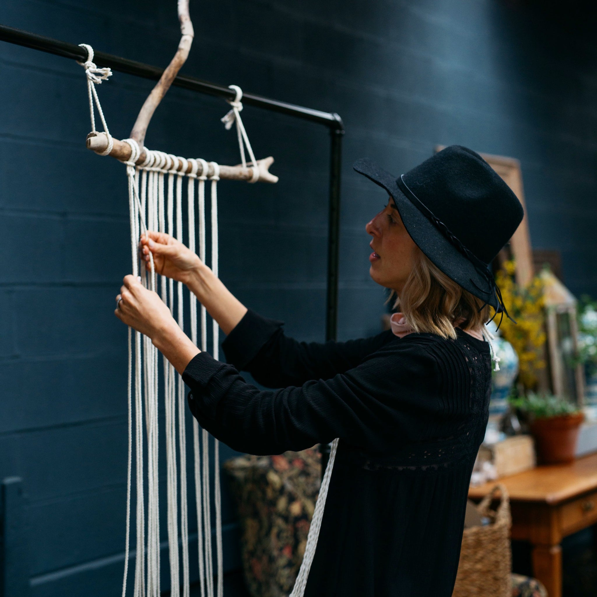 MACRAMÉ WALL HANGING WORKSHOP & 3 COURSE LUNCH | CUCINA