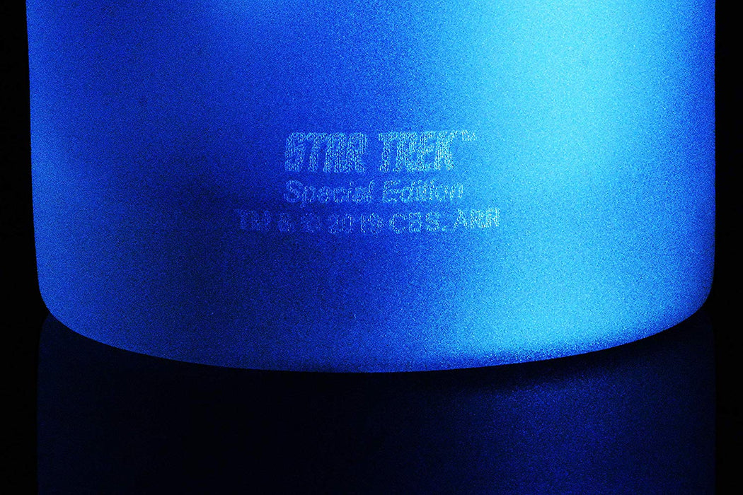 Star Trek: The Next Generation Ten Forward Set Of Four Rocks Glasses Special Edition In Universe™ White Frosted Line Premium Etched By Movies On Glass Includes Four Glasses - 11 Ounces