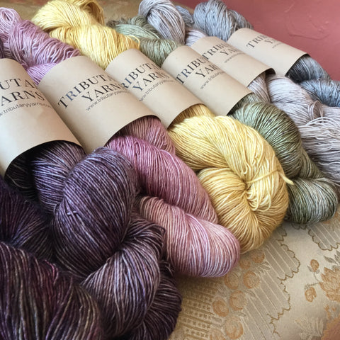 River Silk and Merino from Tributary Yarns