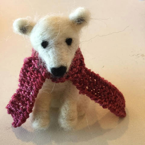 Needle Felted Polar Bear Class Dec. 16