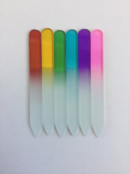 Nail Files Glass Multi