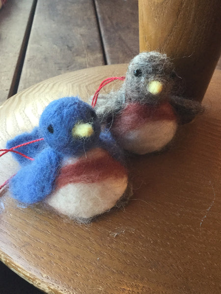 Needle Felted Ornament Class - Dec. 22