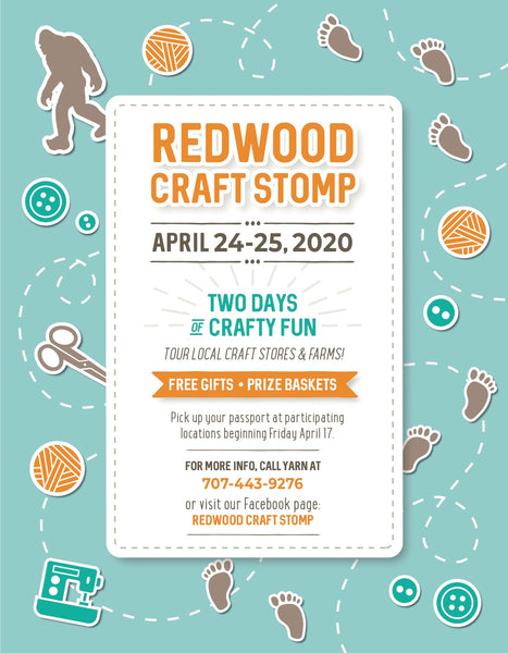 Redwood Craft Stomp 2020