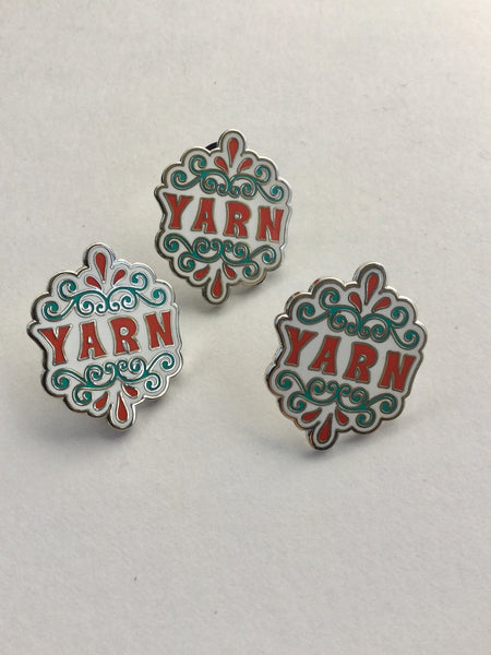Yarn Enamel pins