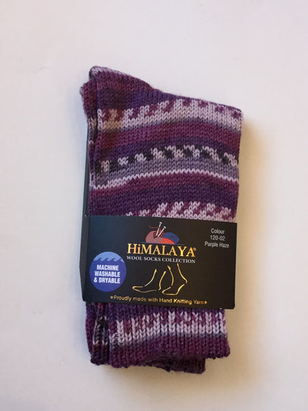 Fair Isle Socks from Himalaya