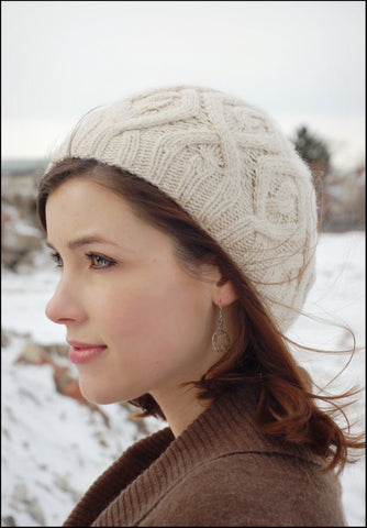 Winter Trails Hat pattern by Alana Dakos