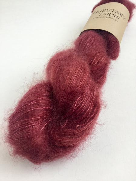 Deep Cranberry - Mountain Mohair