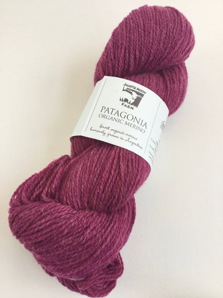 Patagonia Organic Merino yarn from Juniper Moon
