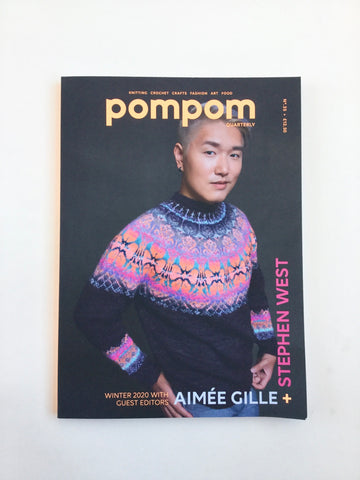 Pompom Magazine No. 35 Winter 2020