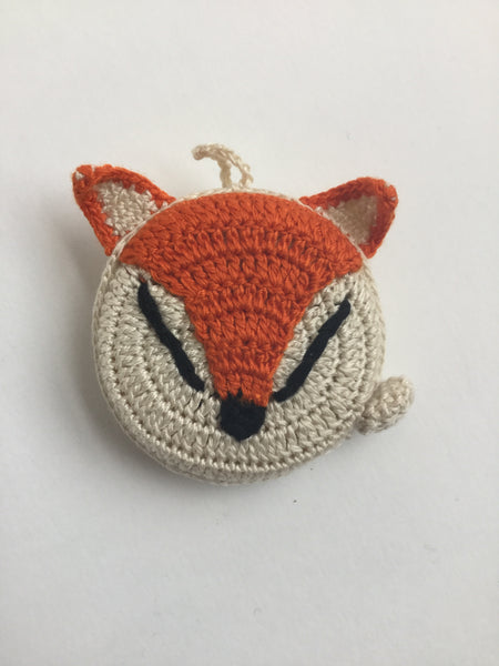 Animal tape measure crocheted