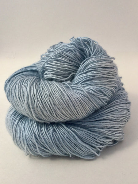Naturally Dyed River Silk and Merino from Tributary Yarns