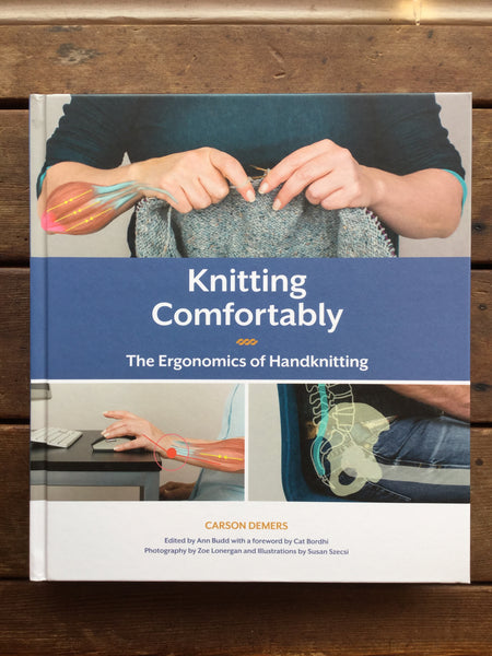 Knitting Comfortably book by Carson Demers