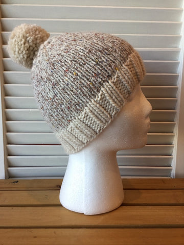 Winter in Canada hat kit from Sweet Shop Patterns