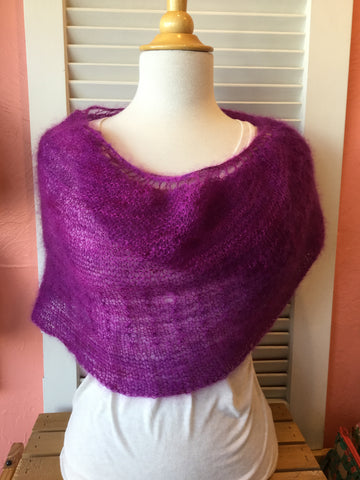 Community Shawl kit from Tributary Yarns