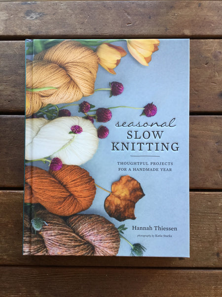 Seasonal Slow Knitting book