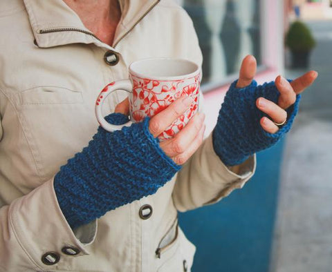 Eureka Mitts kit from Sweet Shop Patterns