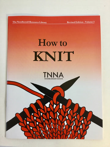 How to Knit book from TNNA