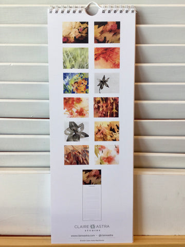 Claire Astra Studios - Perpetual Calendar - Works on Paper