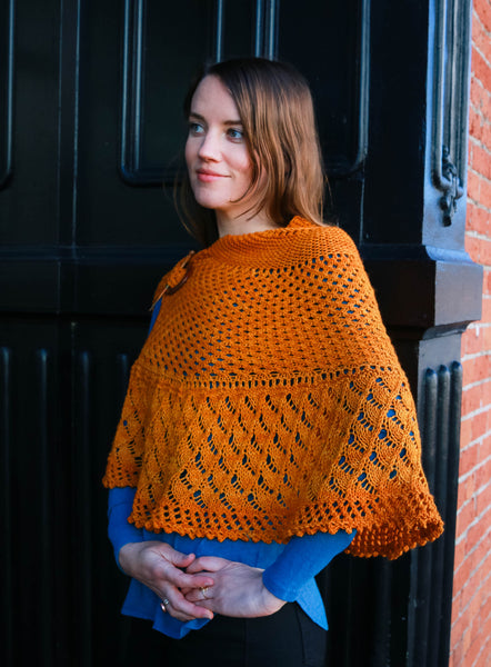 Maple Creek Shawl pattern PDF from Sweet Shop Patterns