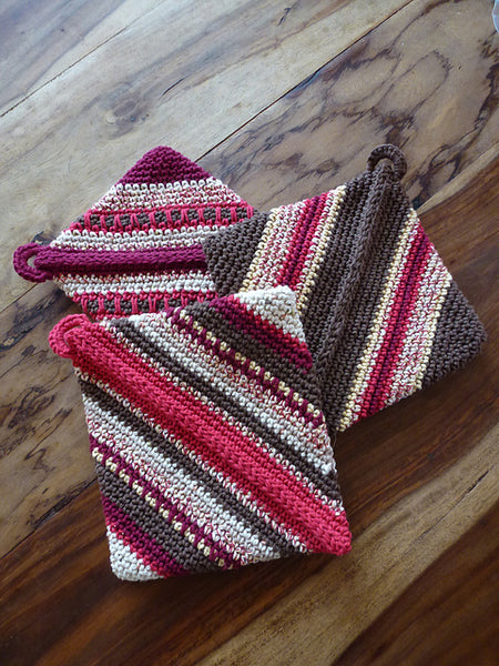 Yarn Camp - Crocheted Potholder - Free Workshop