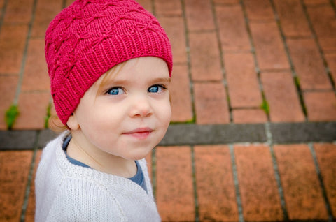 Sweet Shop Patterns Little Bows Hat pattern PDF