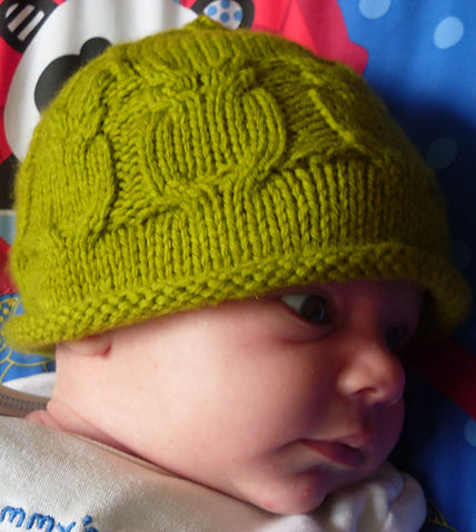 Yarn Camp - Free Workshop - Cabled Baby Hat