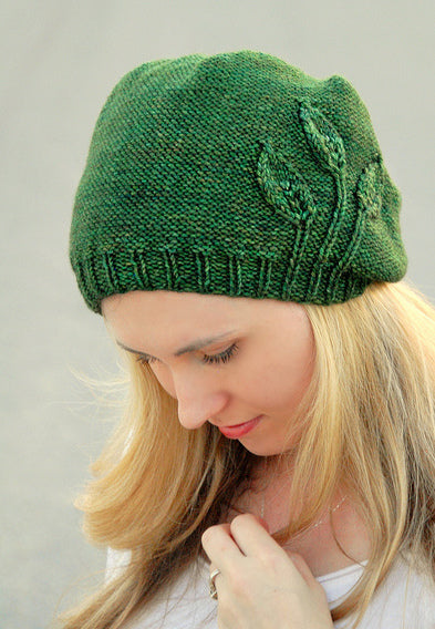 Seedling Hat pattern by Alana Dakos