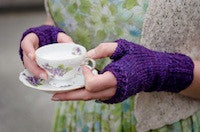 Trelawney's Mitts pattern by Sweet Shop Patterns