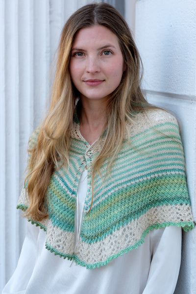 Artogeia Shawl Pattern PDF from Sweet Shop Patterns