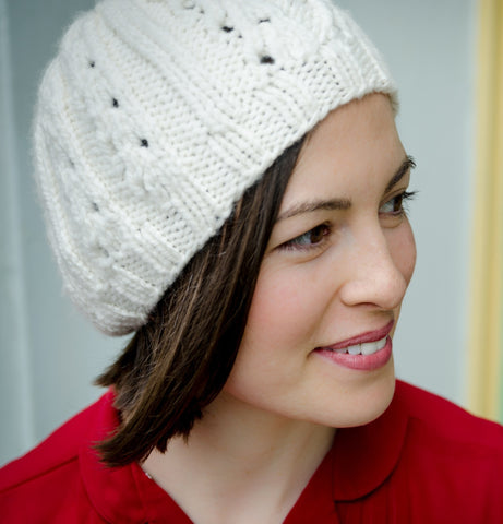 Bellwether hat kit from Sweet Shop Patterns