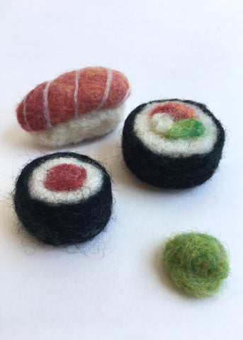 Claire Astra Studios – Sushi Needle Felting Kit