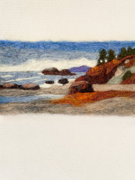 Claire Astra Studios - Moonstone Beach Landscape Needle Felting Kit