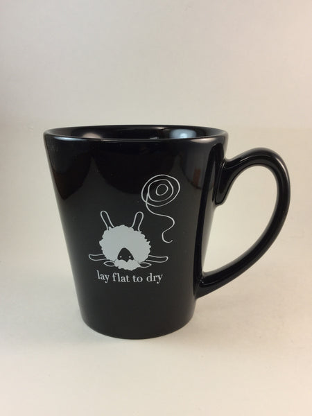 Lay Flat to Dry sheep mug